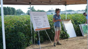 Presentor at Cotton Tour on West Tennessee Center