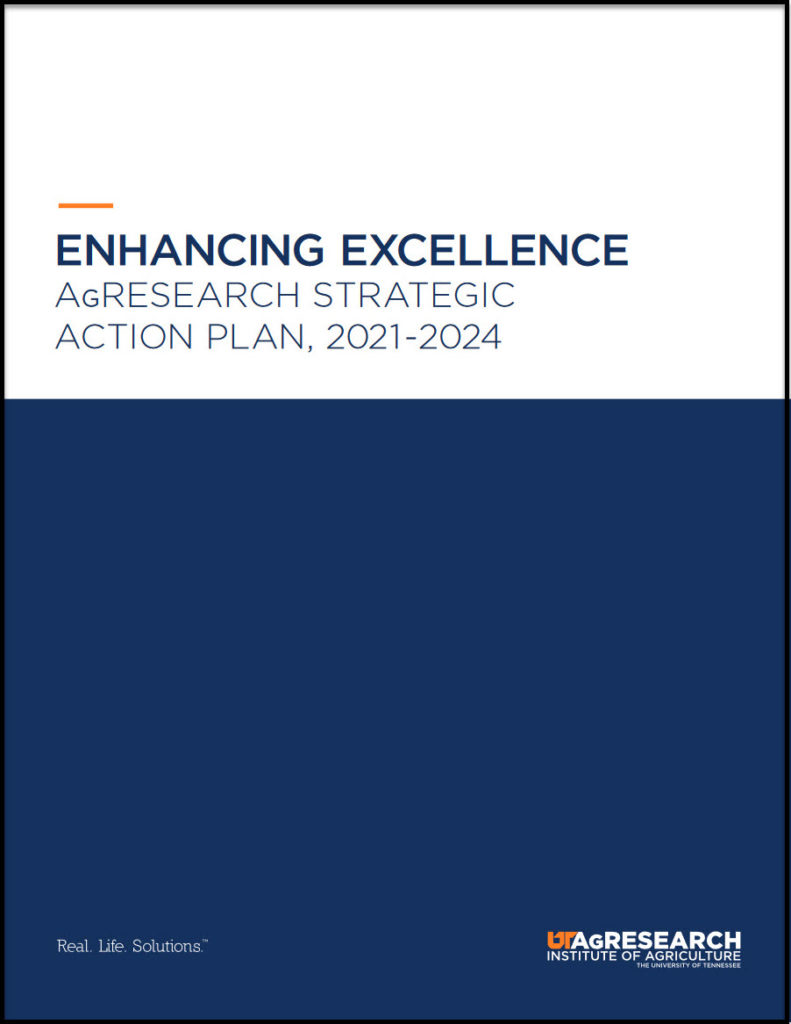 Cover of AgResearch Strategic Action Plan 2021-2024