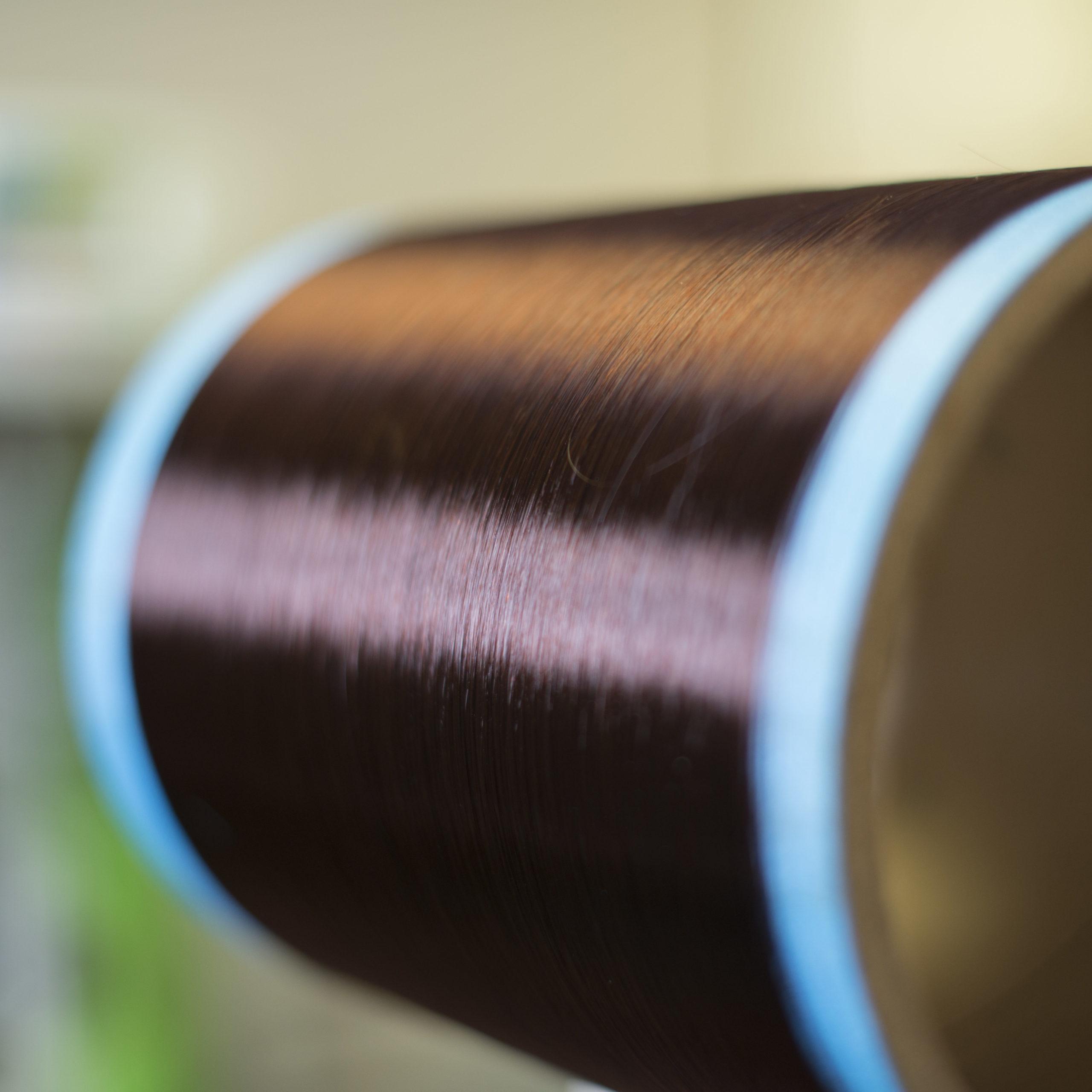 spool of carbon fiber